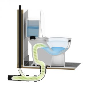 toilet trap venting - toilet repair